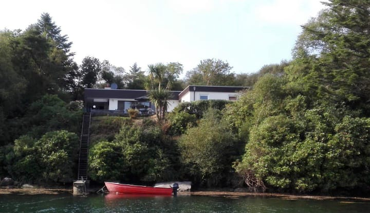Spacious House with Private Pier, Beara, Co. Cork