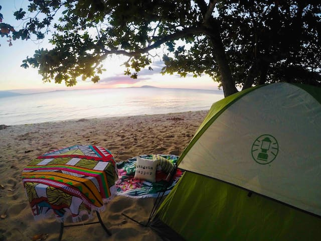 BEACH FRONT GLAMPING WITH INFINITY POOL BATANGAS