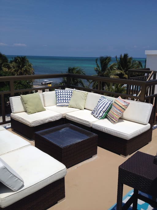 Relax with the sea view