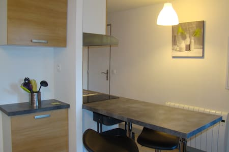 Agréable studio 2 personnes - Font-Romeu-Odeillo-Via - Huoneisto