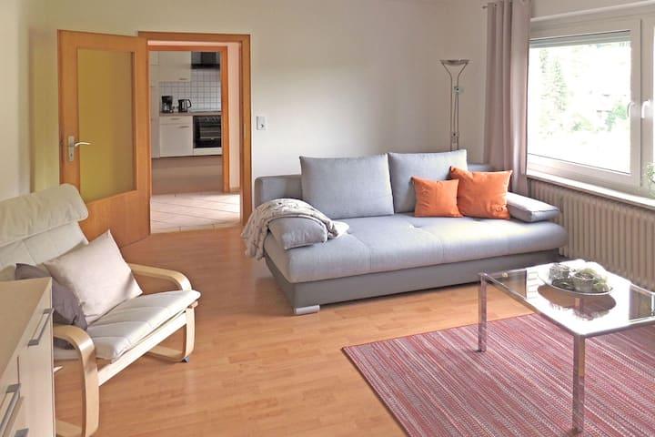 Acogedor apartamento en Bad, Pyrmont cerca del bosque
