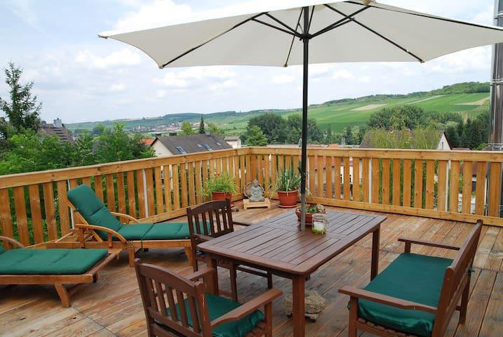 Urlaub mit Aussicht - Ochsenfurt - Apartamento