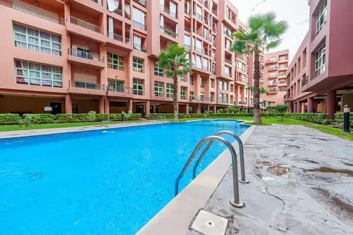 Résidence avec piscine privée