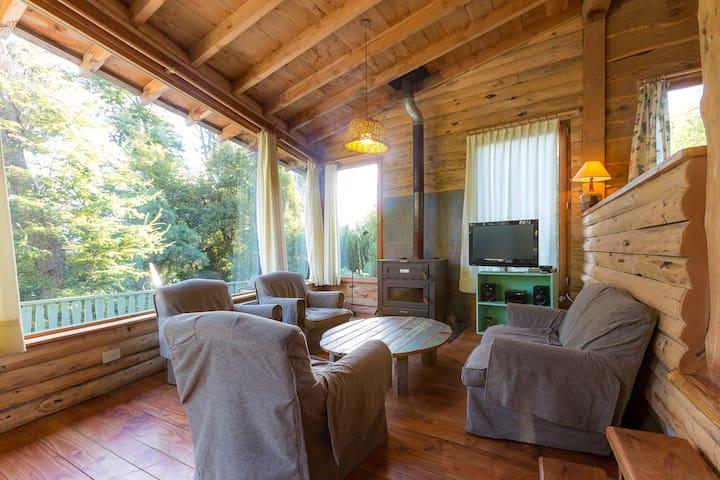 El Siestón, Casa-Deck en el bosque - Villa La Angostura - Casa