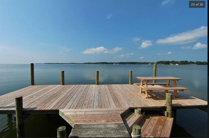 Absolutely stunning Chesapeake bay views - Kilmarnock - 獨棟
