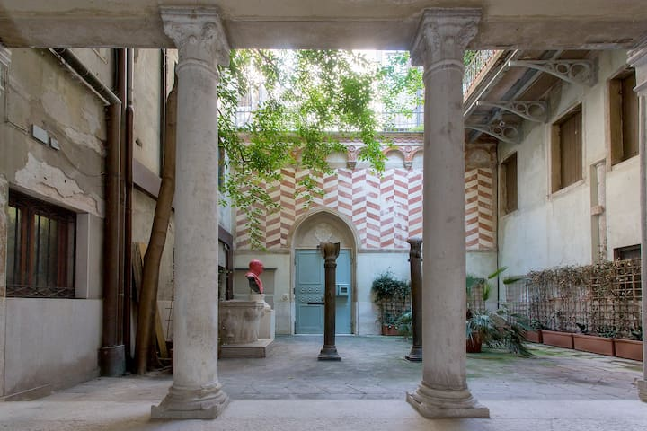 G3 ST.MARK's SQ 5 MINS WALK-VENICE CHARM COURTYARD
