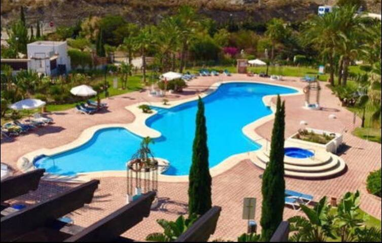 SPIRIT OF MOJACAR LARGE 1 BED A15.