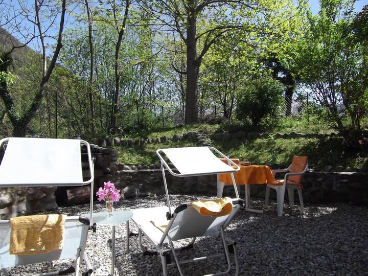 Appartamento tranquillo a Losone zona fiume