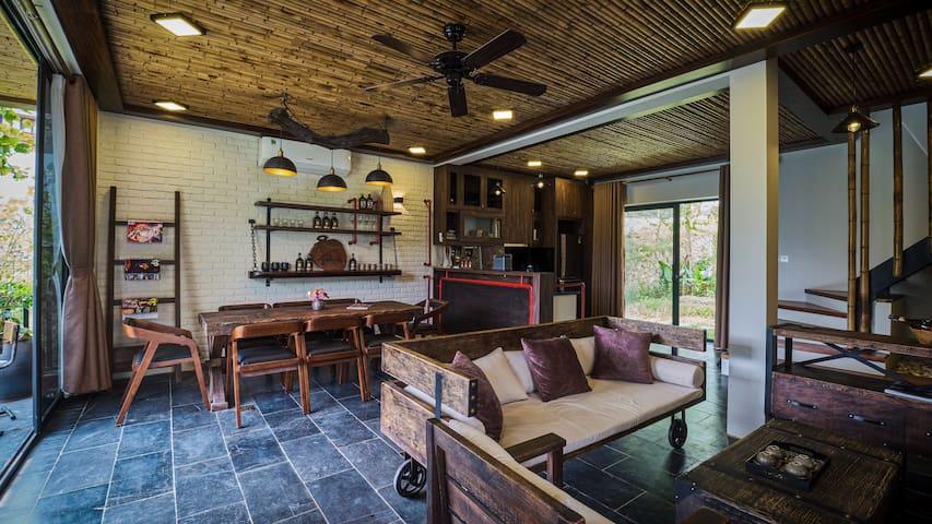 MyBinsu Villa - Phong cách Rustic độc đáo, mới lạ