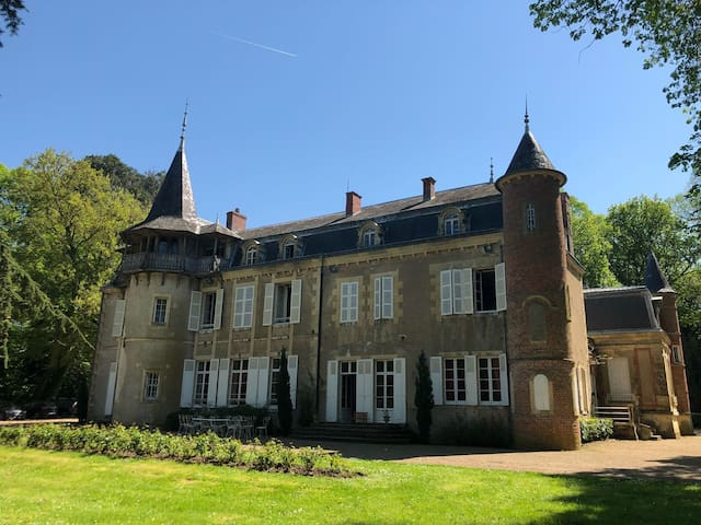 Château de Chalivoy-la-Noix, 20 à 27p. parc de 8ha