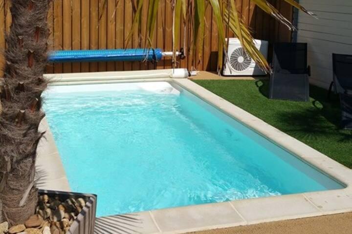 Maison avec piscine privée proche plage