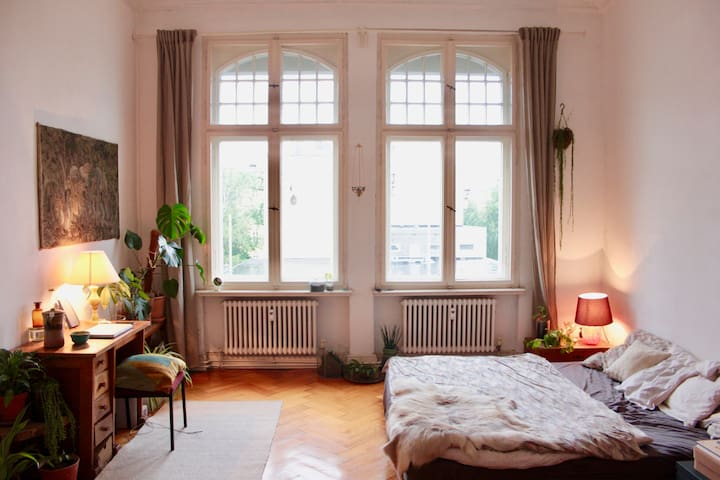 Jungle room in exciting Moabit