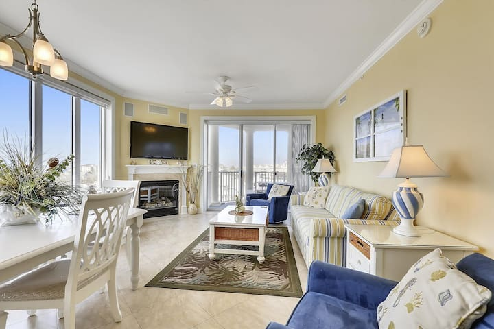 Belmont Towers 511 - Next to Boardwalk w/ Pool & Ocean View
