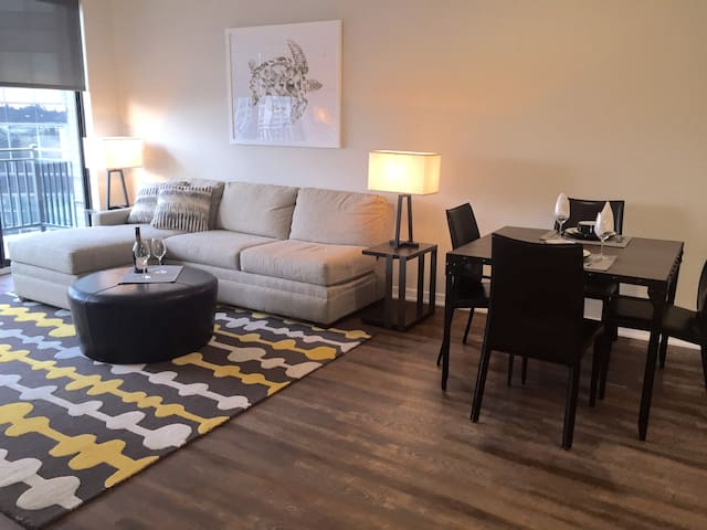 Luxury 2 Bedroom Apartment Near NYC - Hackensack - Apartotel