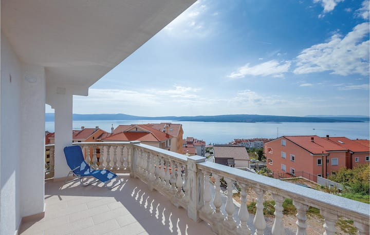 Amazing home in Crikvenica with WiFi and 1 Bedrooms