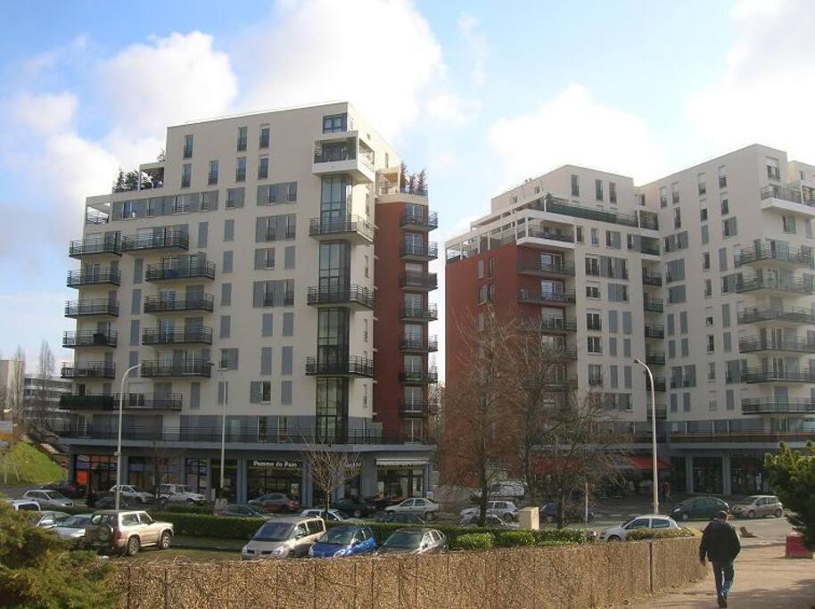 vue de l'immeuble