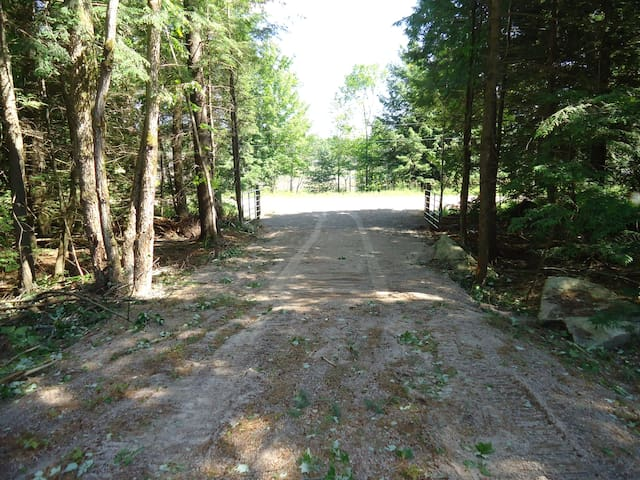 Private wooded campground