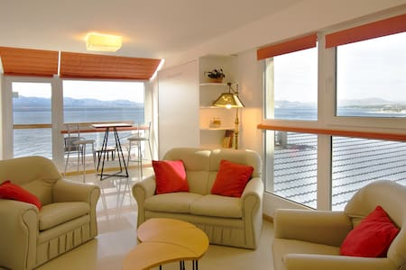 Panoramic view, balcony and garage - San Carlos de Bariloche