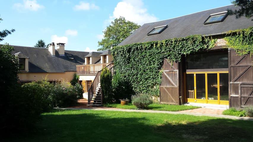 Chambre indépendante avec SdB privé - La Boissière-École