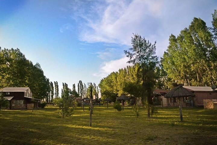 LUXURY WINE CABAÑA V  San Rafael Mza (8 pax)
