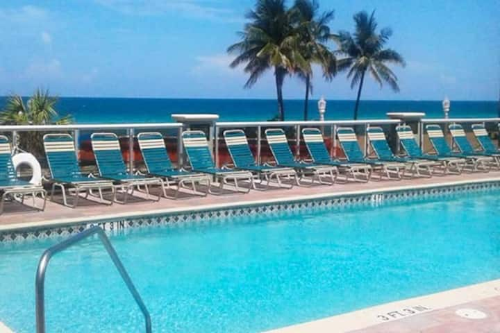 Studio with Ocean Views at Hollywood Beach Towers
