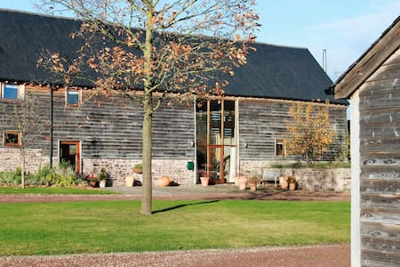 The Hay Barn - spacious, characterful and homely - Bredwardine