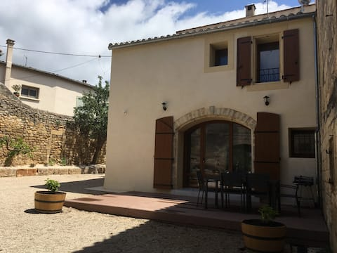 Gîte in the heart of a winery