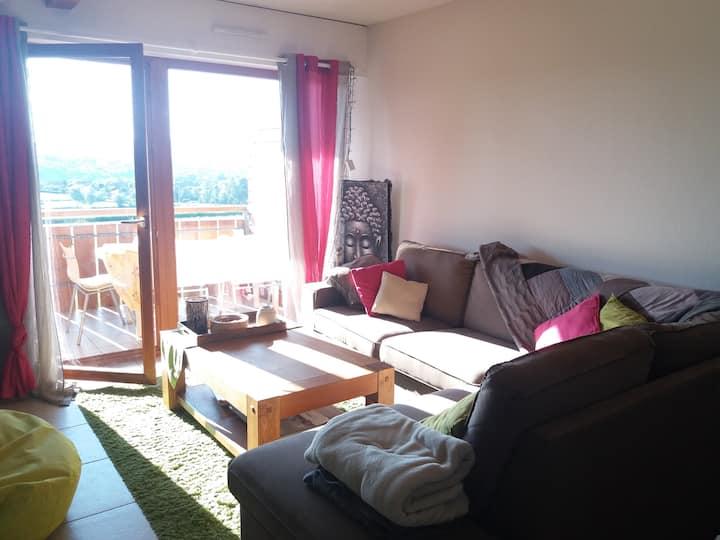 Gruffy: Hébergement calme 20mn lac d'Annecy et Aix
