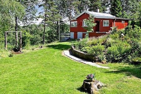 Idyllisk hytte 45 minutter fra Oslo - Stuga