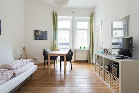 Cool Friedrichshain + Garden View - Berlin - Apartment