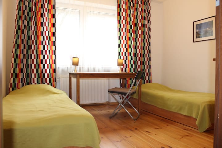 Comfortable room with 2 single beds - Gdańsk - Maison
