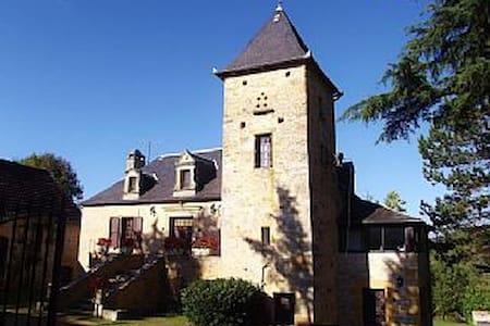 Sarlat 20 mn 2.5 acres with ht.pool - Cénac-et-Saint-Julien - Casa