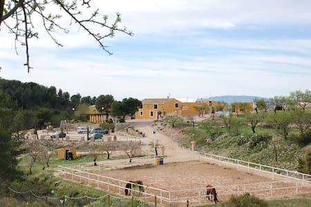 Finca Rural Las Lomas de Biar - Biar - Casa de hóspedes