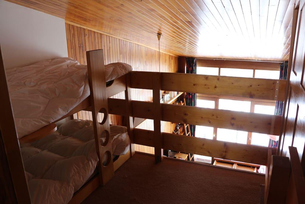 espace 2 lits