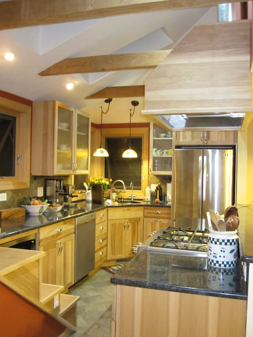 custom kitchen with all your cooking  essentials