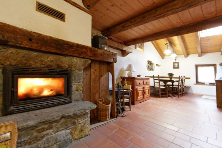 Typical House in Monterosa Ski - Brusson  - Apartemen
