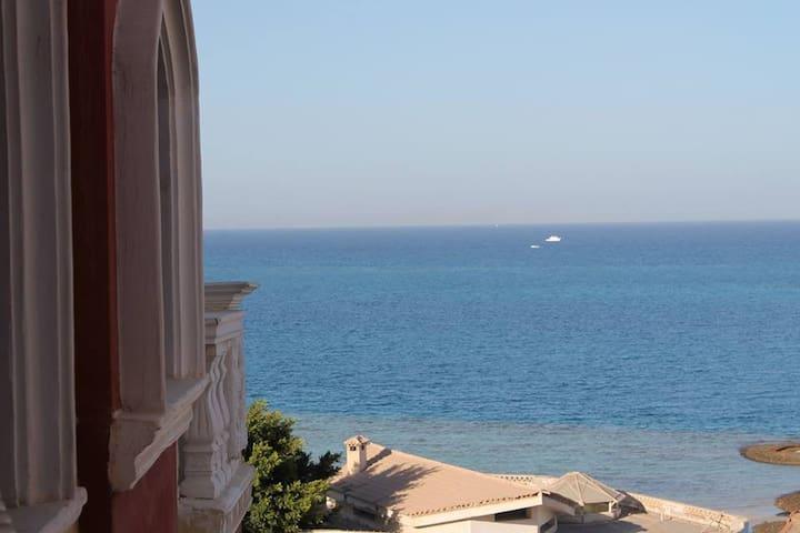 C абсолютным видом на море! - Hurghada - Appartement