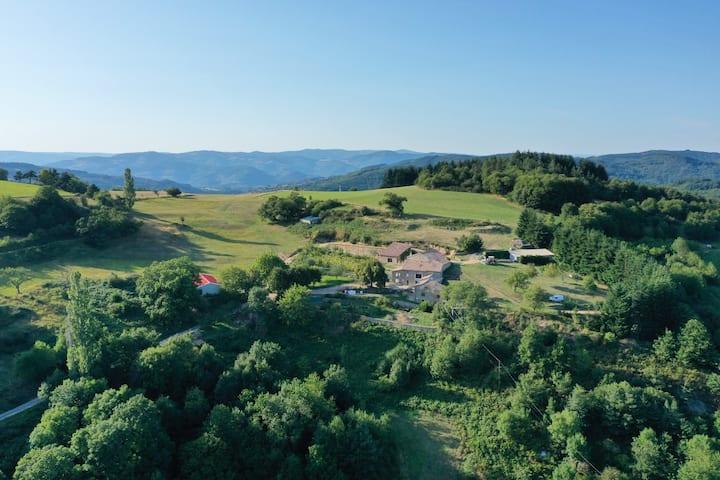 Le gite idéal pour 1 break Nature en Ardèche 4/6 P