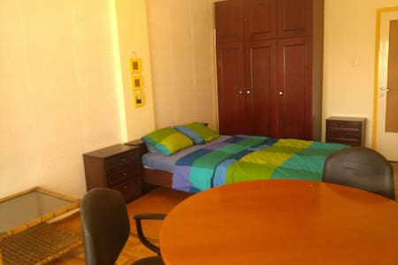 Huge Relaxing Private Centre Room - Thessaloniki - Wohnung
