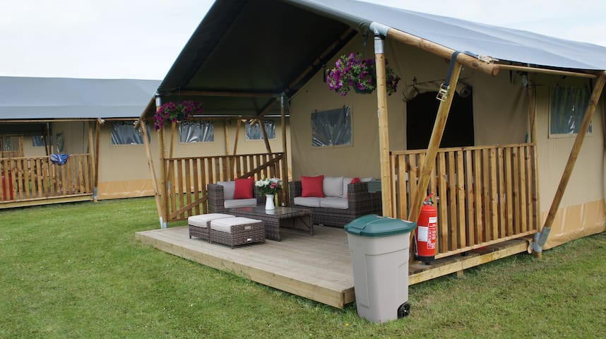 Marwell Activity Centre Safari Tent 1