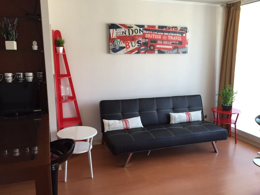 Sofa Cama en Living