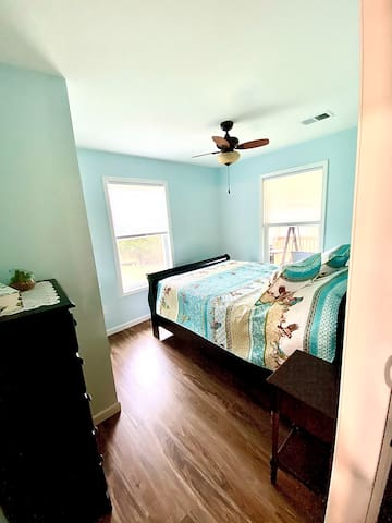 2nd bedroom with Restonic Mattress