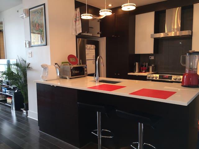 Stylish & Modern Penthouse - Montréal - Appartement en résidence