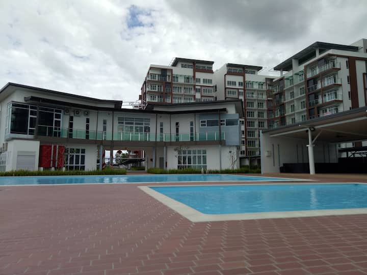 Kuching P'residence Condo (3 Bedrooms) Homestay