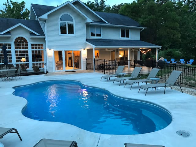 New Listing!!  Waterfront home with private pool