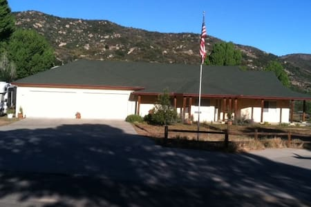 Home Stay in San Diego Mountains - Pine Valley