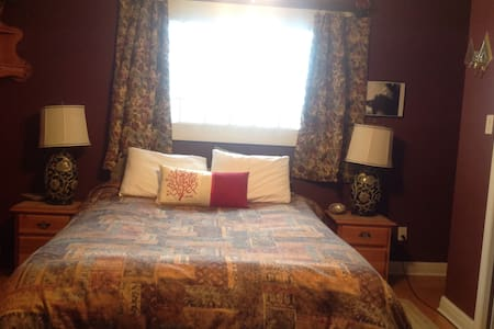 """Antique Rose"", Private Room, Entrance and Ensuite - Port Coquitlam"