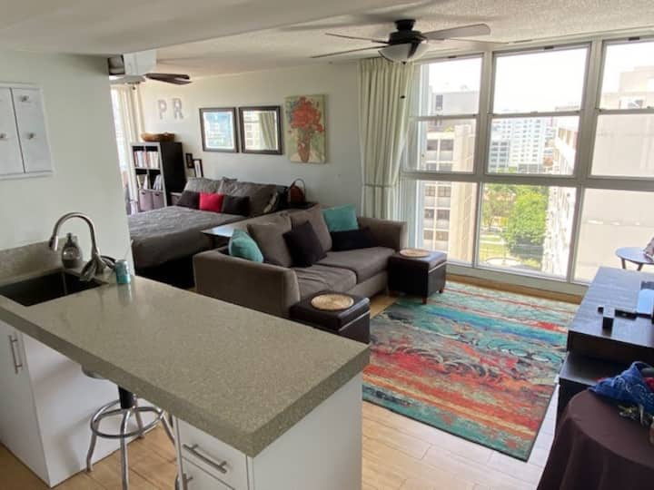 Ashford Imperial Studio with pool heart of Condado