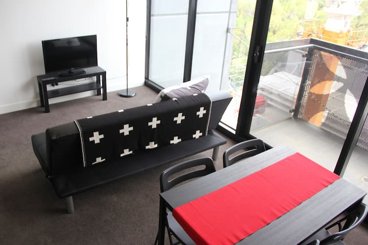 Modern one bedroom apartment - North Melbourne - Daire