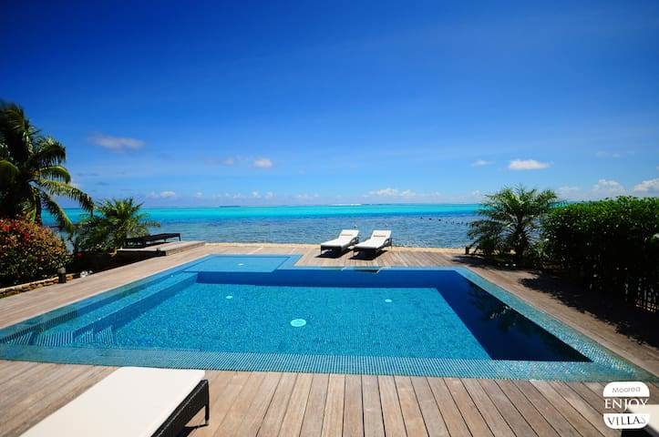 Villa N°10 by ENJOY VILLAS MOOREA - Maharepa - 別荘